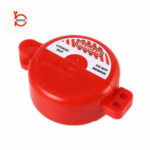 Factory wholesale gas tank supply cylinder safety lock plastic pneumatic lock