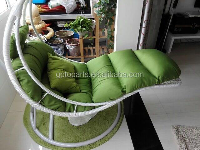 Amazing Wholesale Egg Chaped Swing Hammock Chair Swing Chair Hanging Pod Chair  Rattan Outdoor Hammock Swing Chair