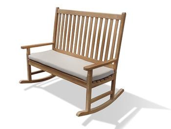 Double Rocker Rocking Chair Bench