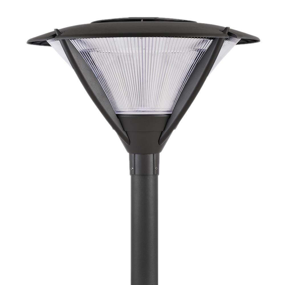 Solar Led Garden Lighting Yard Pole Lamp Etl Post Top Outdoor Area Light Lights