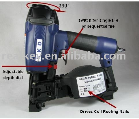 Roofing Coil Nailer RK-CRN45a