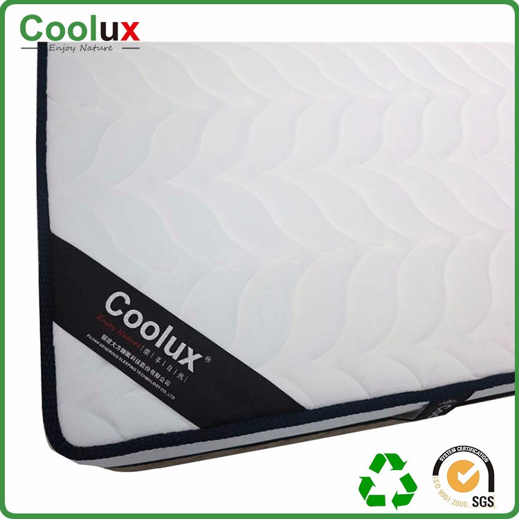 Good Thermal Diffusion User-friendly Pillow Top Round Mattress Factory