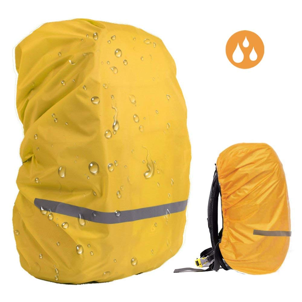 ed5e2b3d7df3 Get Quotations · EDOBIL Rainproof Cover Waterproof Backpack Rain Cover With  Reflective Strip for Hiking Camping Traveling Outdoor Activities