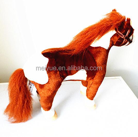 Wholesale Standing Dark Brown Stuffed Animal Horse Plush Toy Buy