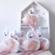 China Manufacturer Hot Selling Living Room Ornaments Home Decor Pink Swan Bedroom Decoration