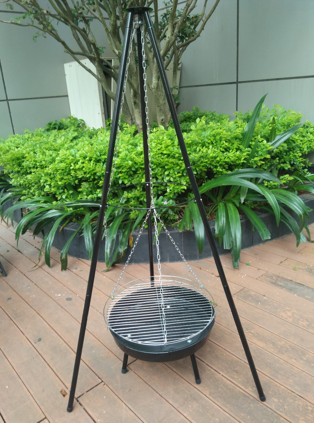grate height adjustable bbq grills with movable charcoal pan for