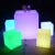 Multiple Color Outdoor Square Led Cube Chair/Led Modern Led Ring Light Plastic Color Changing Cube Turkish Furniture Table Led