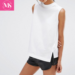 High Class Best Quality Hot New Style Custom Band White Women Yoga T-shirt