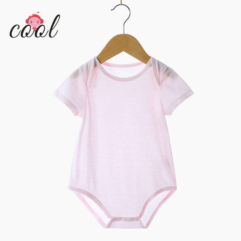 Top Quality Summer Bamboo Baby Romper
