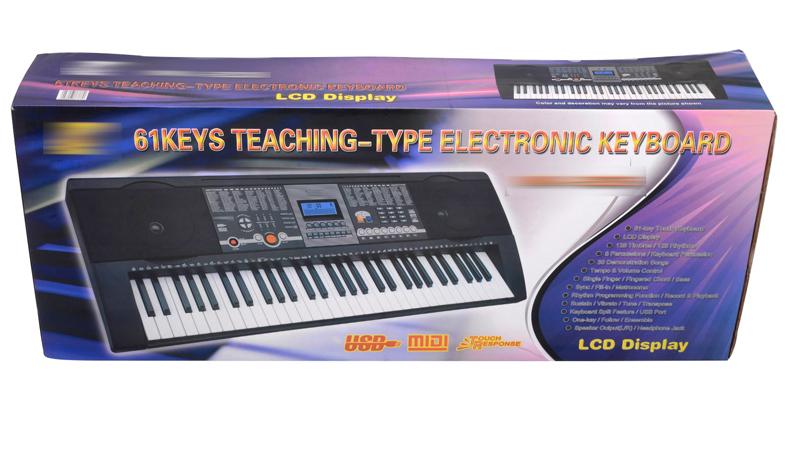 Ek mk906 61 key Simulation Clavier De Piano En Plastique