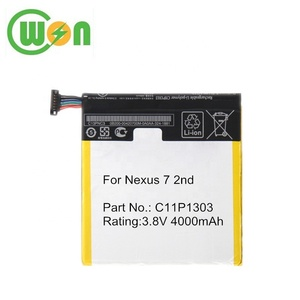 C11P1304 Battery 3 8V 3900mAh Lithium Polymer Replacement Battery for Asus  Google Nexus 7 2nd Generation Tablet