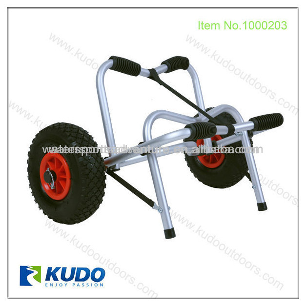 Folding Aluminum Two Wheel Hand Trolley Boat Cart