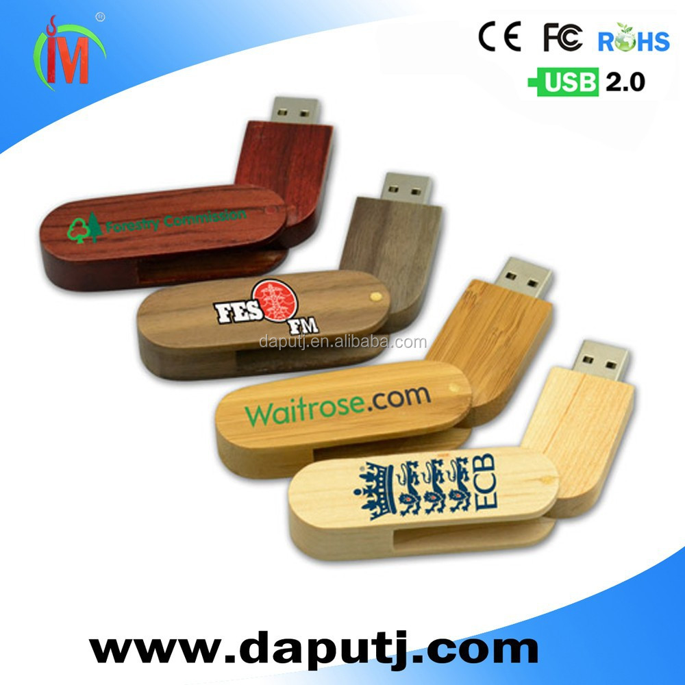 bulk 2gb wooden usb flash memory stick