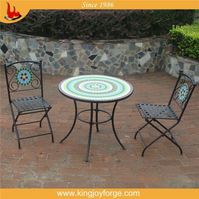 2014 new design mosaic bistro table sets furniture
