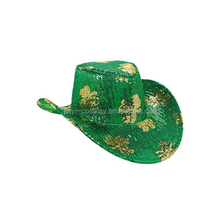 6e238730545fc Saint Patrick Day Party China Wholesale Green Cowboy Hat - Buy Green ...
