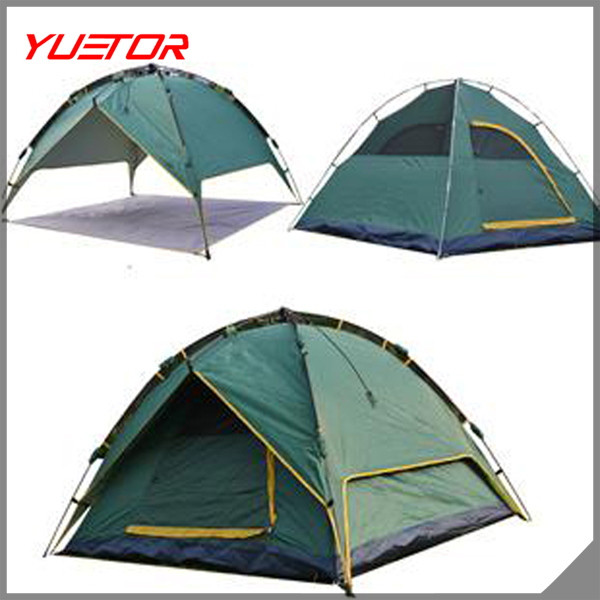 Stocks ready 3 in 1 Automatic Camping <strong>Tent</strong> for 2-3 person