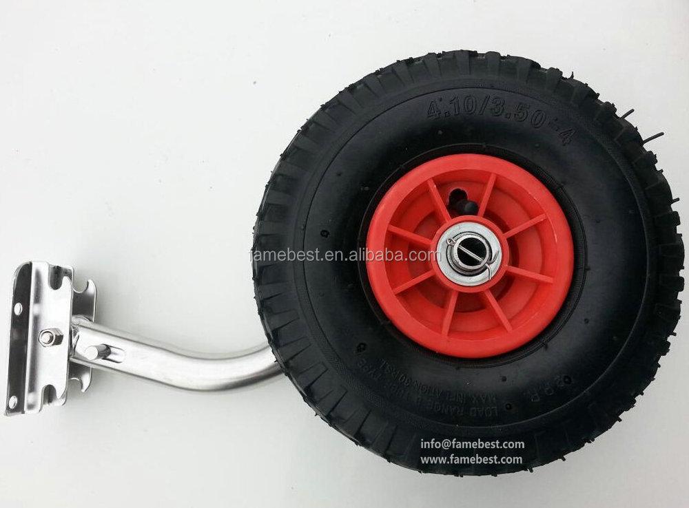 Small Boat Wheels : Heavy duty mobile boat trailers small cart u buy