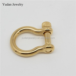 China Manufacturer Custom Stainless Steel D Shackle