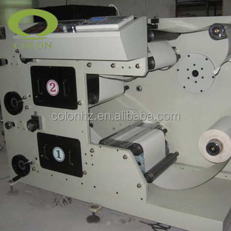 Fpl520 2 high quality sticker label flexo printing press machine manufacturers