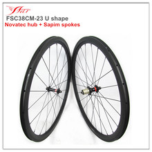 Stiff custom road bike wheels 38mm clincher rims, 2016 topselling carbon bicycle wheels 38mm x 23mm with black sapim spokes