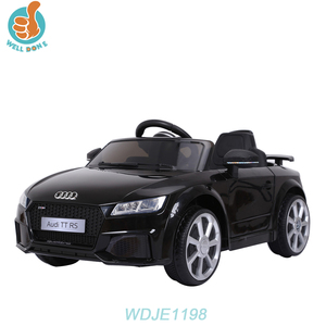 WDJE1198 Licensed Audi TT RS 12V Remote Control Electric Toy Model Car Wheels