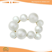 Rolling Pearl Custom Clip Jewelry For Wedding Shoe Accessories Wholesale Shoes Decorations Clips XH-013
