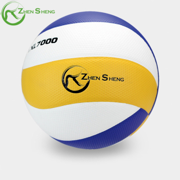 ZHENSHENG Customized Full Printing Machine Stitched Soft PVC Beach Volleyball
