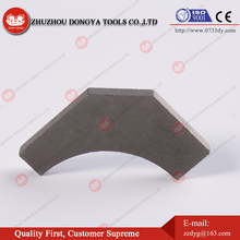 Cemented carbide tips for asphalt cutter bits road milling bits to planing tool with excellent quality