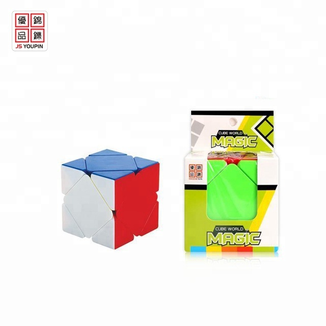 hot selling puzzle toys plastic 3d puzzle cube