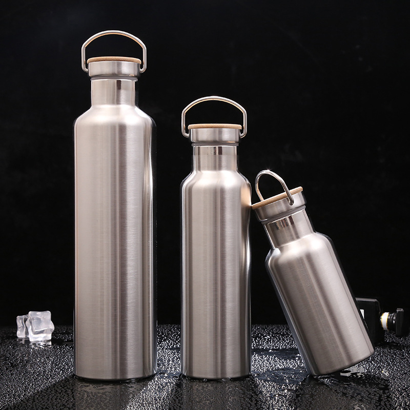 2019 New Design custom logo double wall insulated stainless steel water bottle