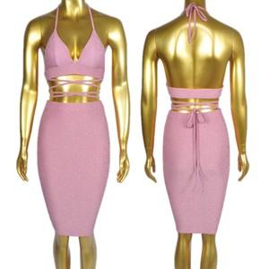3c1eb230e5a 10 Color Women Sexy Backless Dresses Glittering Bright Silk Nylon Fabric  Party Night Club Wear Clothes