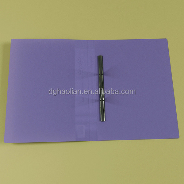 PVC document holder file holder for meeting use China supplier