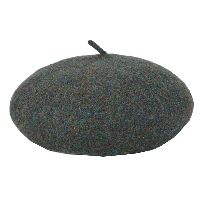 Get Quotations · WoowTry Women s Fashion Fleece Beret Wind Hat Outdoor Warm  Caps Berets 3105acd613b