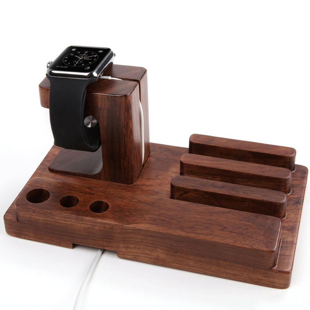 Amazon 2016 holder for mobile phone we wood watch bed holder