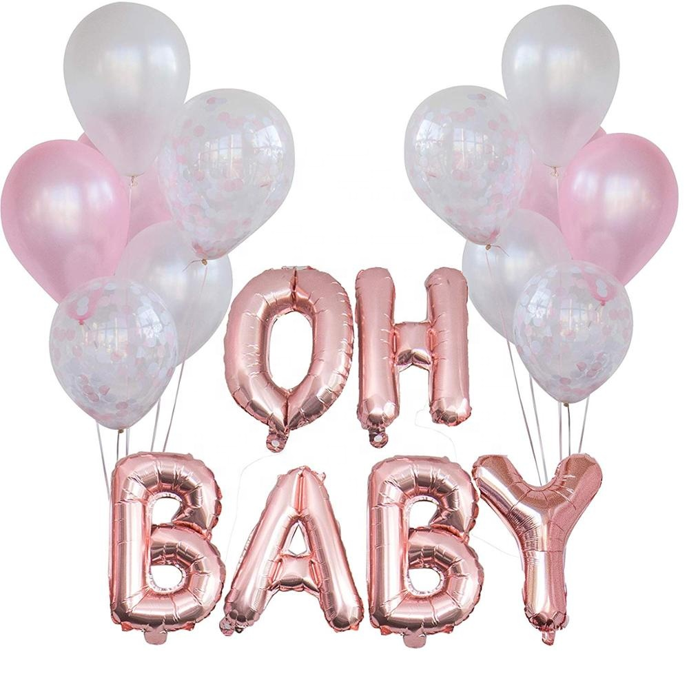 Ballons & Accessories Festive & Party Supplies Aggressive Each Party 13pcs 16 Inch Happy Birthday Aluminium Foil Letter Ballon Decorations Kids Adult Balls Aniversario Baby Shower Girl