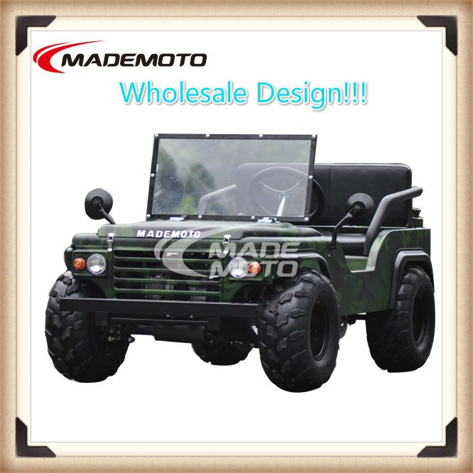 China Supplier 110cc Mini Jeep Willys / Go Kart / ATV for Sale