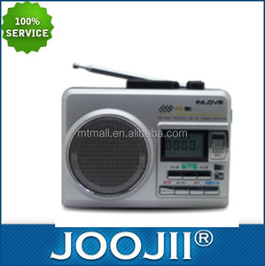 2016 hot-selling AM/FM radio support TF and tape with high quality