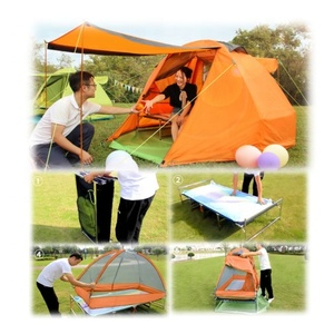 hot sell family camping tent cot for sale make in china tent cot