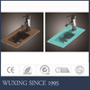 Minisize Rectangular Glass Sink Color Can Be Changed Cheap Fancy Wash Basin