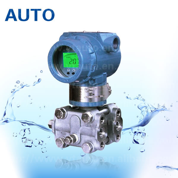 3051DP high precision stainless steel Smart Differential Pressure Transmitter communicate include data correction