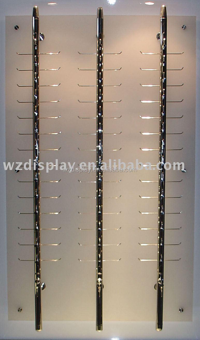 Eyeglasses display - Sunglass Display With Locking Rods Sunglass Display With Locking Rods Suppliers And Manufacturers At Alibaba Com