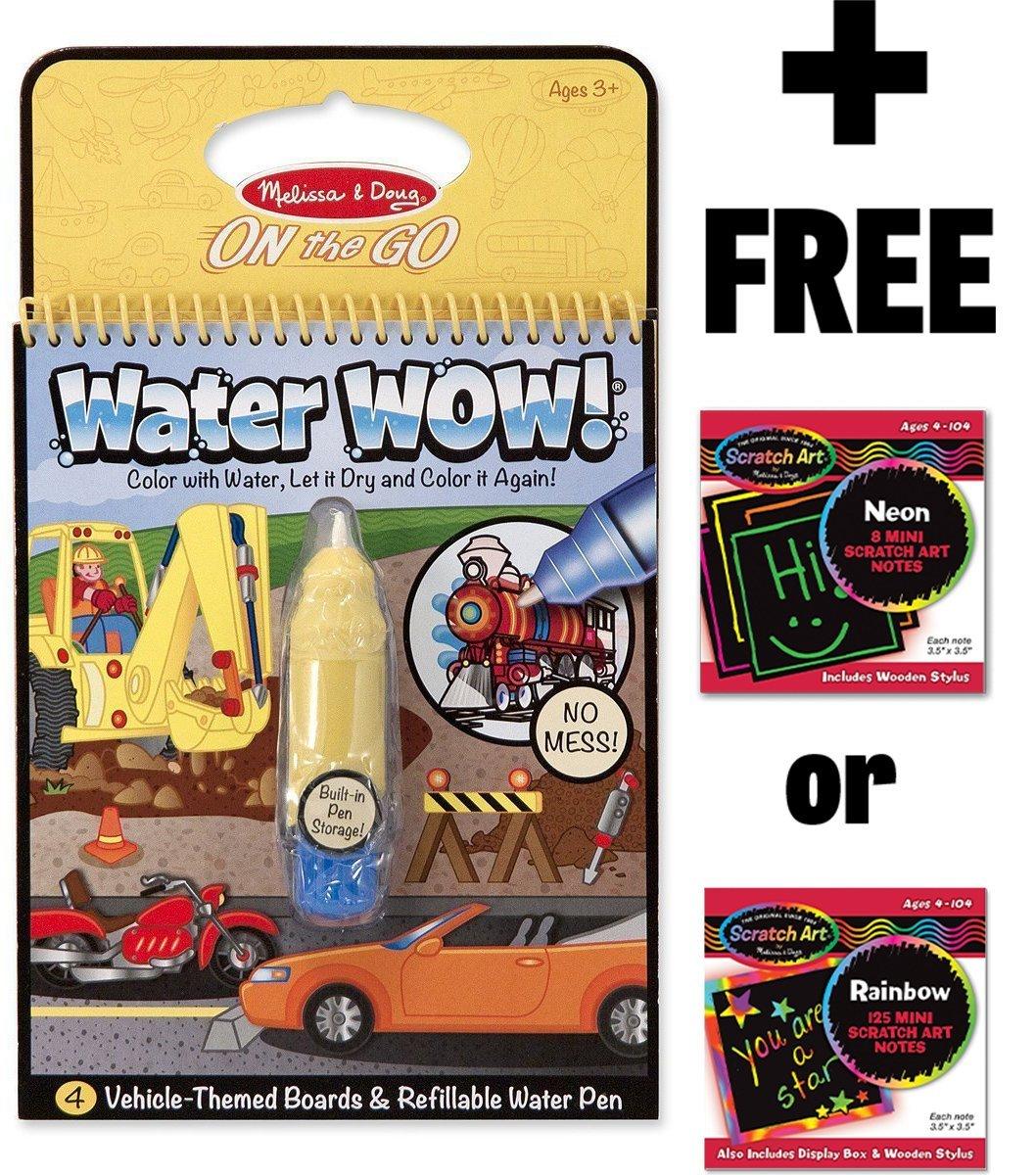 Discovery Magic Set FREE Melissa /& Doug Scratch Art Mini-Pad Bundle