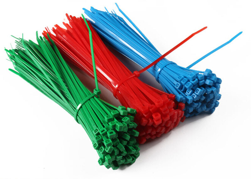 500 pcs/lot,Wholesales 200mm*4mm Red/blue/green Self-locking Plastic Nylon66 Cable Ties,Wire Zip Tie free shipping