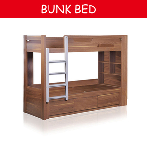 wholesale children queen size school wall bunk bed wooden for kids with stairs