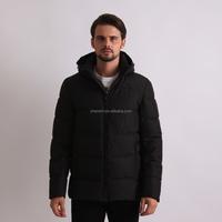 Wholesael Winter Black Polo Bubble Coats On Sale