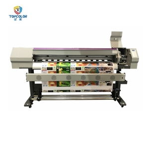 Topcolor eco solvent plotter 5feet 6feet vinyl printer plotter cutter xp600 dx5 pattern plotter printer