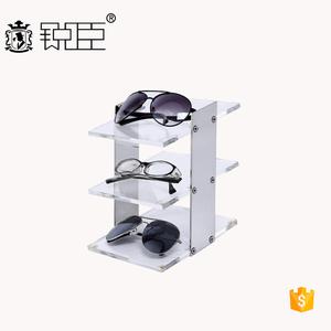 ba4858a54ac2 Optical shop customized 3 4 tier acrylic clear eyewear sunglasses display  stand rack