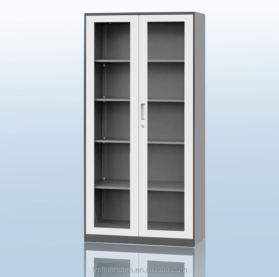 Storage Cabinet Sliding Doors Full Height Hanging Cabinet With Glass Door Sliding Door Storage