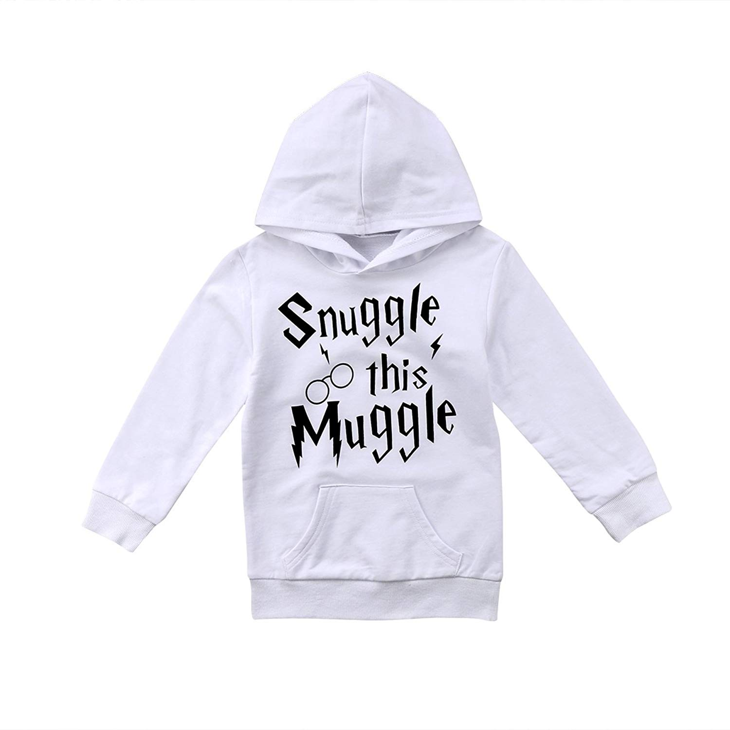 Kids Toddler Baby Boys Girls Hooded Sweatshirt Unisex Baby Hoodie With Pocket Outfit