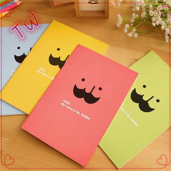 Good quality competitive price types of printed school popular use colorful paper notebooks and writing pads
